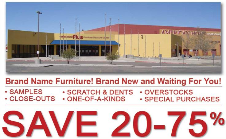 American Home Furniture Albuquerque Warehouse